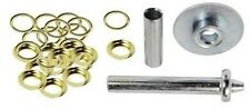 NEW 63PC Grommet Installation Kit Repair Tool Tarps Tents Canopy Awnings