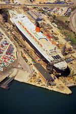 793044 Queen Elizabeth II In King George V Graving Dry Dock Southampton UK A4 Ph