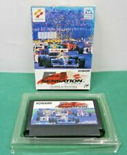 NES -- F-1 SENSATION -- Boxed. w/o manual. popular racing. Famicom Japan 12916