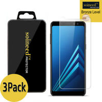 [3-Pack]SOINEED Tempered Glass Screen Protector For Samsung Galaxy A8+ 2018 6.0""
