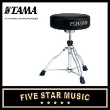 TAMA HT430 STANDARD ROUND TOP DRUM THRONE WITH BACKREST STOOL SEAT HARDWARE