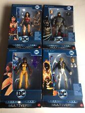 Lot Dc Comics Multiverse Lex Luthor BAF SET ~ Batman,Vixen,Wonder Woman New!