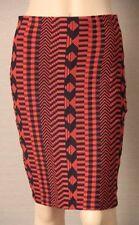 metalicus Knee-Length Nylon Regular Size Skirts for Women
