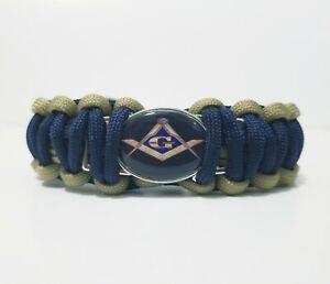 Masonic Freemason Charm Bracelet Wristband