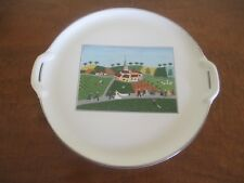 Villeroy & Boch, Design Naif Round Handled Cake Plate, Excellent Condition