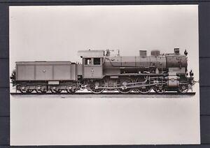 Eisenbahn Motivkarte Dampflokomotive 2404 Preussische Staatsahnen