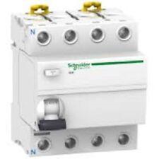 Interrupteur différentiel iLD K 4 pôles 25A - 30 ma - Schneider Réf : A9R55425