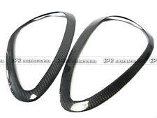EPR 2Pcs Headlight Eye Brow Lid For Porsche 11-14 Cayenne 958 Carbon Fiber Style