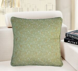 "16x16"" Vintage Luxury Jacquard Home Decor PILLOW COVER Sofa Bed Cushion Case USA"