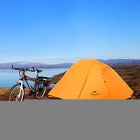4 Season 2 Person Ultralight Camping Dome Tent W/ Mat Waterproof Outdoor Hiking