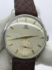 VINTAGE OMEGA 2800-2 P MANUAL CAL.266 MENS 35mm SWISS MADE .SERVICE JUST MADE !