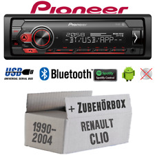 Pioneer Radio for Renault Clio 1+2 Bluetooth Spotify MP3 USB Android Einbauset