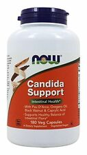 Now Foods CANDIDA SUPPORT - 180 vcaps Digestive Intestinal Health YEAST CONTROL