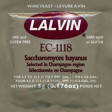 Lalvin EC-1118 Wine Yeast, 5g - 10-Pack