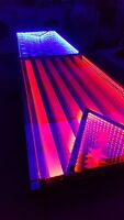 4th of July USA America Infinity LED BEER PONG TABLE - 8ftx2ft /w MUSIC SENSORS