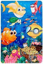 Fairy Tale Kinder Teppich Spielteppich Fische Unterwasserwelt
