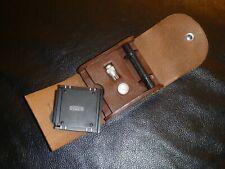 MINT FLEXKIN ADAPTER for FLEXARET Va, VI MEOPTA for 35MM FILM + leather case