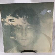 John Lennon Imagine Capitol Vinyl LP Record Include Rare Poster Vintage BEATLES