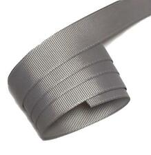 "5 yards Gray 5/8"" grosgrain ribbon by the yard DIY hair bows"