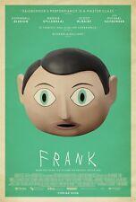 Frank Film Poster: 27.9x43.2cm: Michael Fassbender