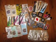 Maybeline Almay Clinique Eyeshadow Mascara Lipstick Makeup New Huge 45 pc. Lot