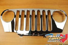 1997-2006 Jeep Wrangler TJ Chrome Front Grille Applique Mopar OEM