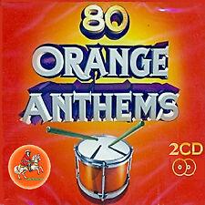 ** 80 ORANGE ANTHEMS **  2 CD  ** -LOYALIST/ORANGE/ULSTER/ CD