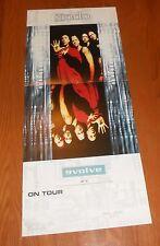 Endo Evolve On Tour Poster 2-Sided Flat Square 2001 Promo 12x28
