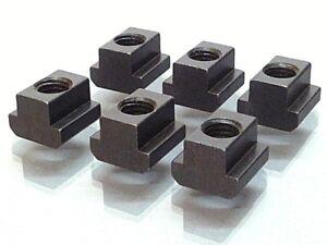OREX   6 T-Nutensteine M12x14, DIN 508 , Muttern für T-Nuten,T-Nutenstein