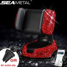 Lujo coche Dashboard Soporte para teléfono de Montaje Cristal Clip de ventilación de aire para Hombre Mujer Chica