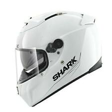 Cascos integrales Shark color principal blanco para conductores
