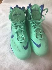 watch 897c2 2204a Nike Men s Zoom Hyperfuse 2013 Green Glow Game Royal Basketball Shoes Size  15