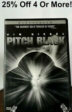 Pitch Black (Dvd, 2000)~25% Off 4 Or More!