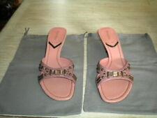Miu Miu By Prada Heeled Sandals Fume Stone Pesco 9 M (Eu40)