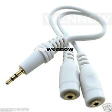 1 ft  Dual Mini Headphone Jack Adapter