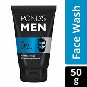 Ponds Men Oil Clear Face Wash 50g With Anti Dullness And Brightening