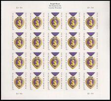 US 5035 Purple Heart Medal forever sheet (2014 date) S111111 MNH 2015