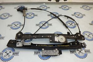 2009 MINI COOPER R56 FRONT RIGHT DRIVER SIDE WINDOW LIFTER REGULATOR OEM USED