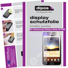 2x Samsung Galaxy Note N7000 Schutzfolie klar Displayschutzfolie Folie Passgenau