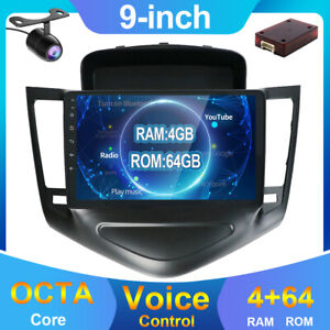 4GB+64GB Android 10 Car Stereo Radio Player GPS Navi For Chevrolet Cruze 9 Inch