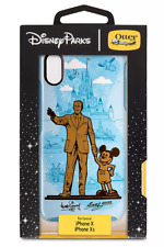 Disney Otterbox Walt Mickey Partners Magic Kingdom Statue iPhone X Xs Case NEW