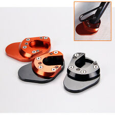 CNC anodized Sidestand Plate Kickstand Extension Pad For KTM 1190 Adventure 2013