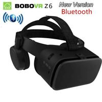 Wireless Bluetooth Z6 VR Headset  3D Glasses Virtual Reality For iPhone Android