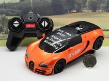 Wedding Day Gift Personalised Page Boy Name 1/24 RADIO CONTROL BUGATTI Car Toy