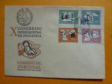 LOT 15023 TIMBRES STAMP ENVELOPPE MEDECINE PORTUGAL ANNÉE 1962