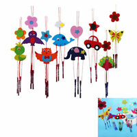 2x DIY Campanula Wind Chime Kids Manual Arts and Crafts Toys for Kids SUPER DDAU