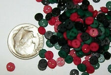 Best deal eve! 500 WINTER MIX 4mm Tiny Doll Buttons instead of 400