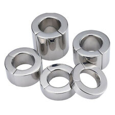 """1.38"""" Strong Magnetic Male Ball Stretcher Weight Enhancer Chastity Scrotum Ring"""