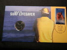 2007 PNC YEAR OF THE LIFESAVER 1st Day Issue Holographic Stamp