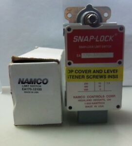 New Namco EA170-33100 Snap-Lock Limit Switch NIB